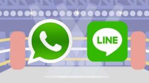 diferencias whatsapp y line